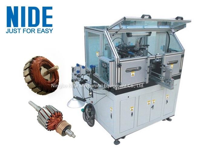 Three phase Armature Winding Machine / Equipment For Meat Grinder , Mixer Motor