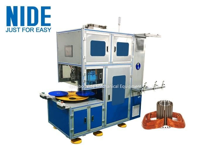 Customized Automatic Coil Winding Machine For Miniature Induction Motors